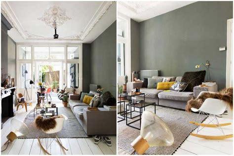 chambre grise et poudré comment intégrer la couleur vert kaki dans sa décoration
