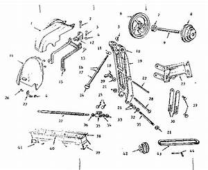 Countershaft  Bed And Lead Screw Parts Diagram  U0026 Parts