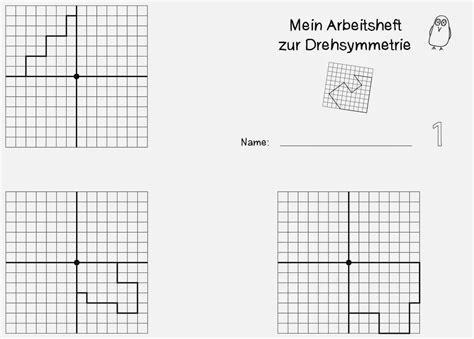 einzigartig punktsymmetrie klasse  arbeitsblatt