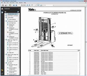 Yale Forklift Spare Parts