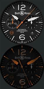 Bell  U0026 Ross Br126 Carbon Orange Limited Edition