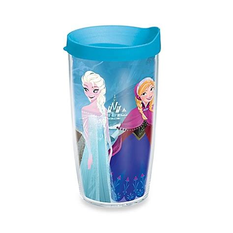 tervis 174 frozen all characters wrap 16 oz tumbler with lid