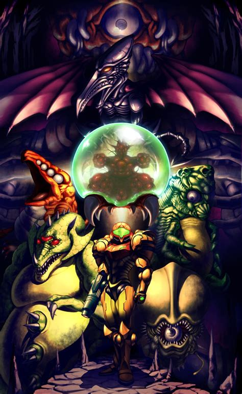 17 Best Images About Video Games Art On Pinterest Samus