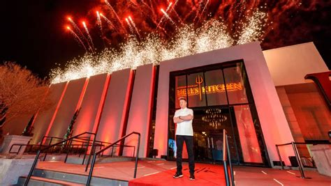 hell s kitchen reservations gordon ramsay opens a hell s kitchen themed restaurant