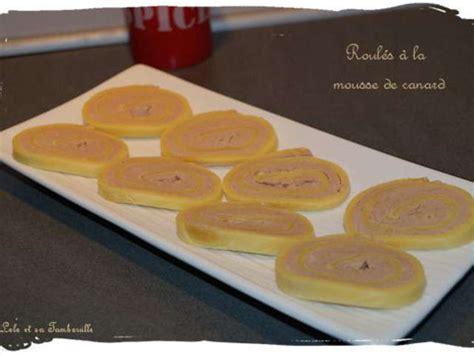 mousse de canapé recettes de mousse de canard