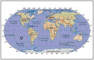 World Map with Latitude and Longitude