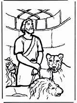 Daniel Coloring Den Lion Lions Pages Testament Bible Funnycoloring Daniels Bibel Popular Zapisano Coloringhome Annonse sketch template