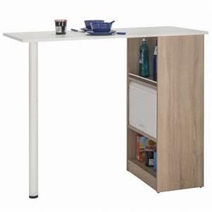 Table Cuisine Avec Rangement : meuble rangement de cuisine ch ne avec table simmob ~ Melissatoandfro.com Idées de Décoration