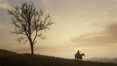 Redemption Dead Ps4 Arthur Rockstar Tree Sky