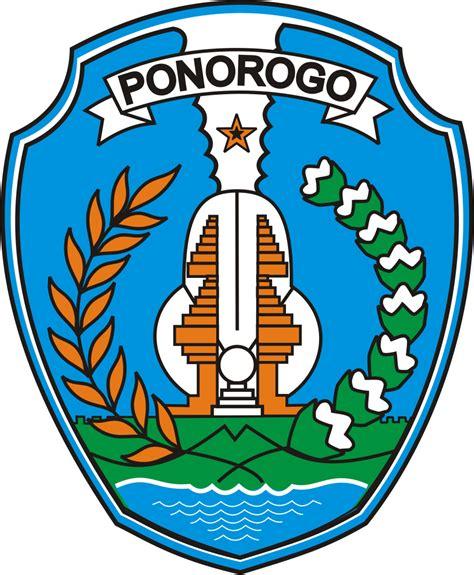 logo kabupaten kota logo kabupaten ponorogo jawa timur