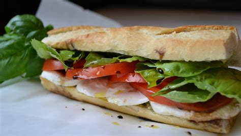 caprese sandwich fresh summer taste caprese sandwich steering your health