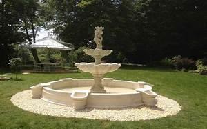 decoration jardin pierre reconstituee With decoration de jardin en pierre