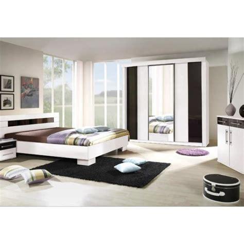 modele de chambre design chambre à coucher complète dublin adulte design blanche
