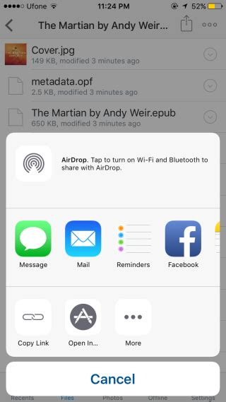 How To Open An Epub File In Ibooks On Your Iphone