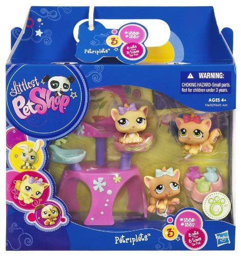 Littlest Pet Shop Pet Triplets   Kitties   Buy Online in