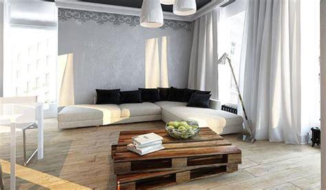 cool apartment ideas cool apartment ideas blending wood into black and white interior design and decor