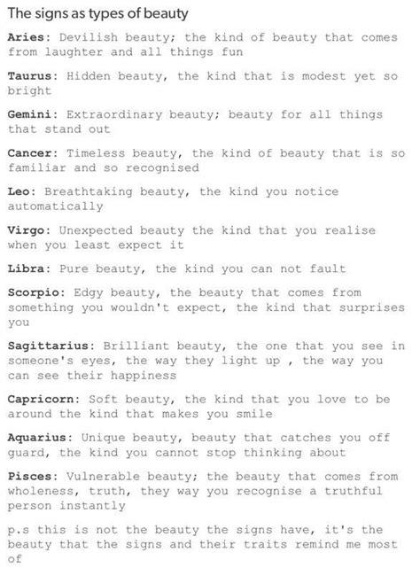 Tumblr Zodiac Sign Body Types   Mungfali