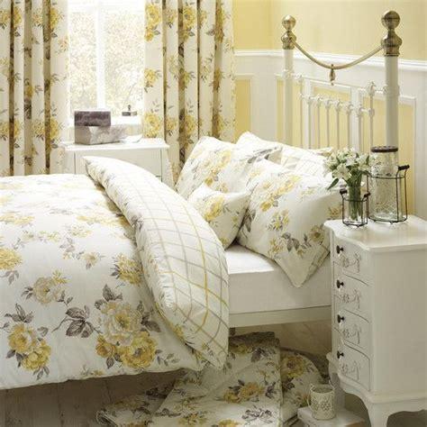 lemon windermere collection duvet cover set dunelm