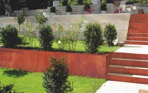 Cortenstahl Schneller Rosten by Rost Cortenstahl Gartenrost Gestaltung Mit Rost Garten