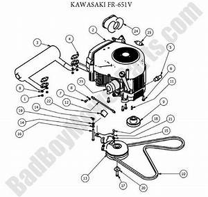 2010 Bad Boy Mz Kawasaki 22 Hp Wiring Diagram   45 Wiring