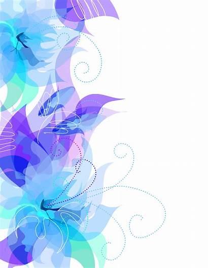 Transparent Decoration Floral Clipart Decorative Backgrounds Elements