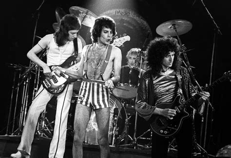 This Is Queen's First Show At The Ahoy, Where Queen Would