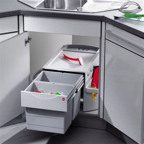 meuble cache poubelle cuisine poubelle cuisine pour meuble d 39 angle
