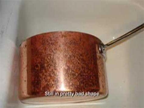 restoring copper pots  pans youtube