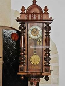Wanduhren Mit Pendel Antik : antike wanduhr regulator gr nderzeit od jugendstil pendel ~ Watch28wear.com Haus und Dekorationen