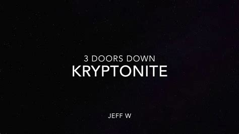 three doors kryptonite kryptonite 3 doors jeff w
