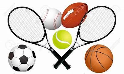 Sports Equipment Clipart Tennis Ball Rackets Illustration
