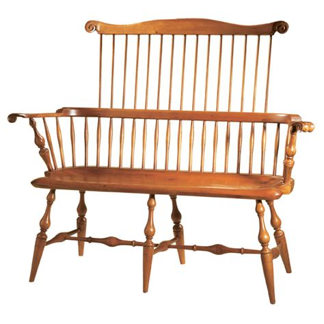 Settees And Benches by D R Dimes Comb Back Settee Chairs Benches Settees