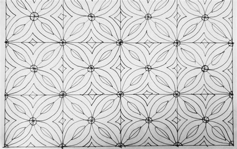 motif batik mudah digambar anak smp