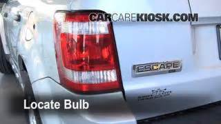 oil filter change ford escape    ford