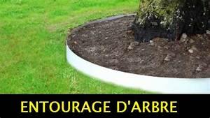 Bordure Jardin Pvc : tuto bordures pvc pour entourage cerclage d 39 arbre jardin apanages youtube ~ Melissatoandfro.com Idées de Décoration