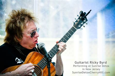 guitarist ricky byrd  ncad summit sunrise detox