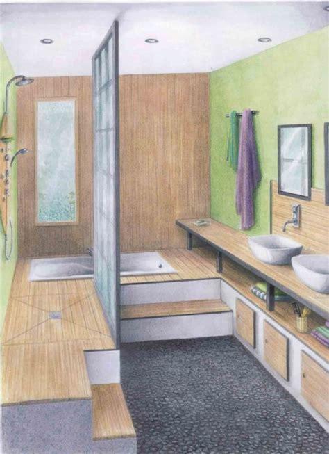 salle de bain quot zen quot communaut 233 leroy merlin