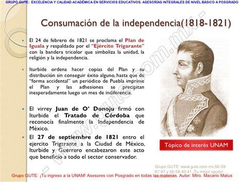 Un Resumen De La Independencia De Mexico by 04 Independencia