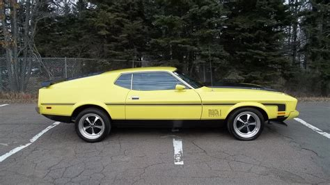 1973 ford mustang fastback 1973 ford mustang mach 1 fastback k145 kissimmee 2016