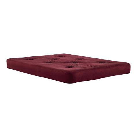 foam futon dhp 6 in coil futon size mattress with certipur us
