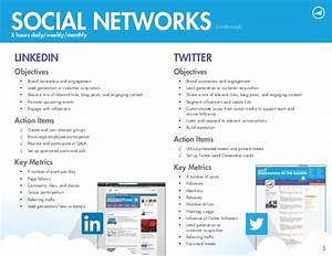 2014 sample social media tactical plan With linkedin strategy template