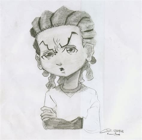 The Gallery For How To Draw Riley Freeman Gangsta