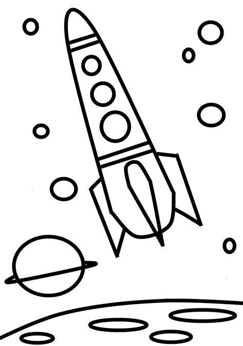 famous malvorlage rakete