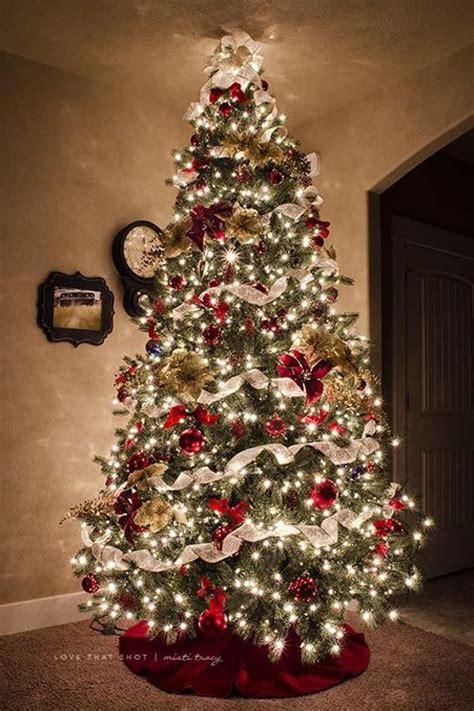 christmas tree decorated ideas beautiful christmas tree decorations ideas deck the 4505