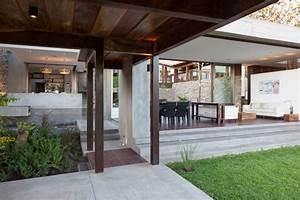 Rustic Meets Modern  Casa Jardin By Cinco Patas Al Gato
