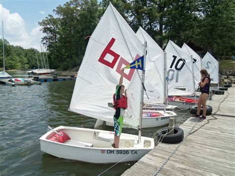 Learn How To Sail A Boat by 1000 Images About Optimist Sailing On