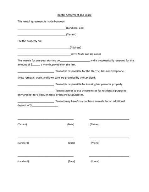 12 Best Images Of Proof Of Lease Agreement Letter Lease