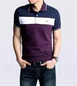 2018 Mens Polo Shirt Classic Hit Color Plaid Handsome