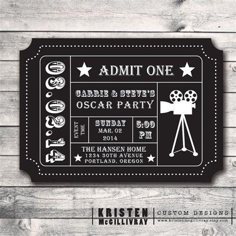 blank  ticket invitation template   aashe