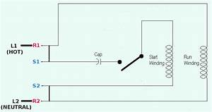 120v Ac Capacitor Motor Reversing Switch Wiring Diagram